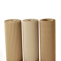 Corrugated rolls of Industrial Paper