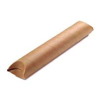 Crimped end cardboard mailing tubes - Example